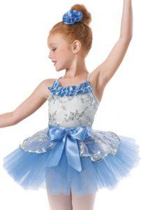 vestuario de ballet para niña