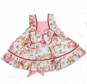 vestido primaveral para bebe