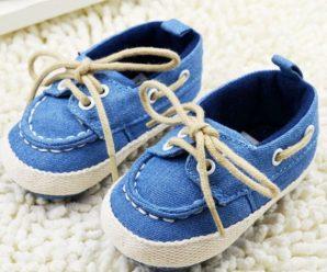 Nuevas tendencias en zapatos mocasines para bebe varoncito