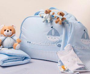 Lindas maletas maternales de bebe recién nacido