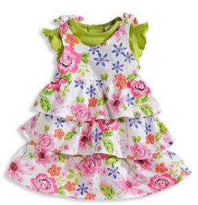 vestidos de primavera para bebe