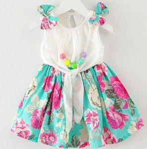 vestidos primaverales para bebes