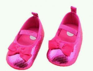 Zapatos de fiesta para bebe mujercita