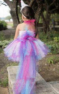 vestidos unicornio para bebes