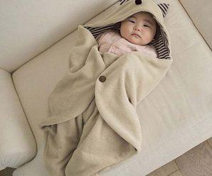 Mantas prácticas y novedosas para abrigar a tu bebe
