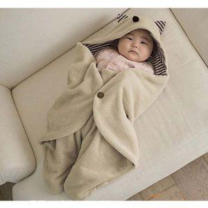 linda manta de invierno para bebe
