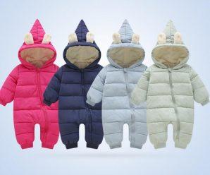 Hermosos mamelucos para bebe temporada invierno
