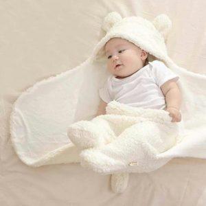 novedosa manta de bebe