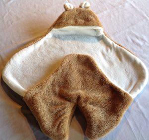manta practica para bebe