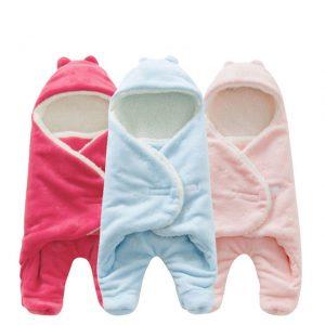 coloridas mantas para bebe