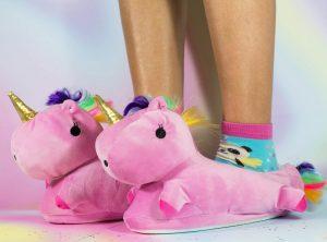 moderno pantufla unicornio para niñas