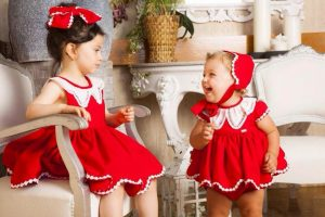 niñs con vestidos jesusito temporada verano