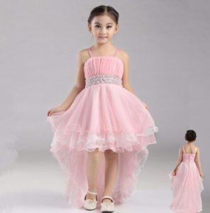 vestido de fiesta de promocion modelo cola de pato