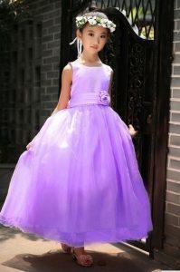 vestido de fiesta de promocion primaria color lila