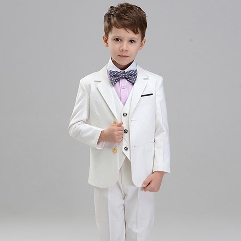terno blanco para niño