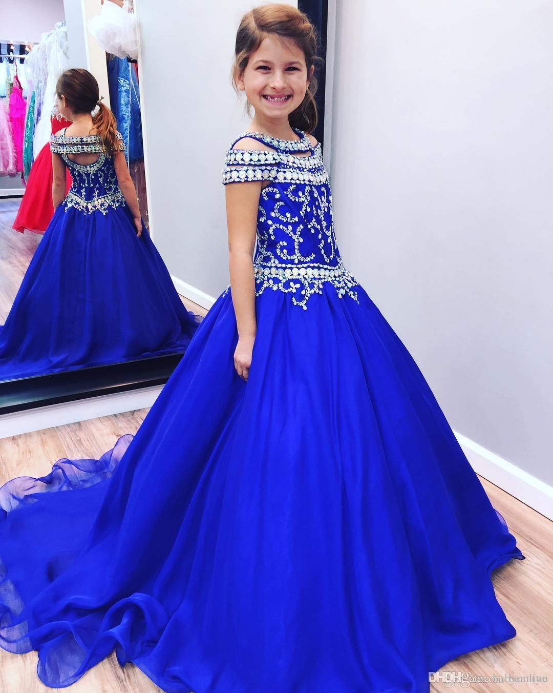 vestido de fiesta de promocion color azul