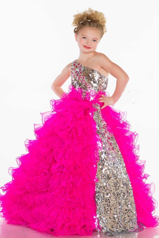 vestido de fiesta color fucsia