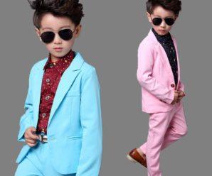 Exclusivos y coloridos ternos para niños de inicial 5 años