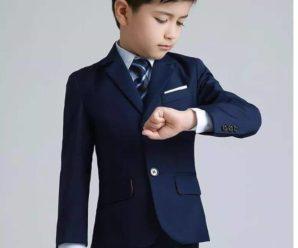 Lo último en ternos elegantes para niños inicial 5 años