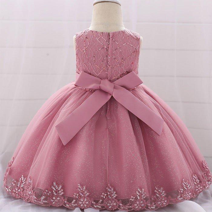 Vestidos De Niña Para Fiesta De Promoción Color Palo Rosa
