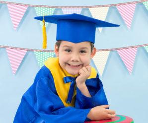 Las mejores togas de graduación para niños de inicial