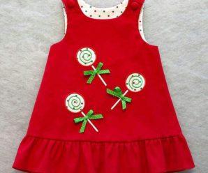 Lo último en vestidos jumper para niña, nuevas tendencias y modelos